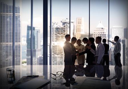 Business people - team meeting