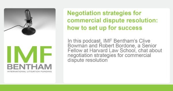 Negotiation strategies for commercial dispute resolution (podcasts)