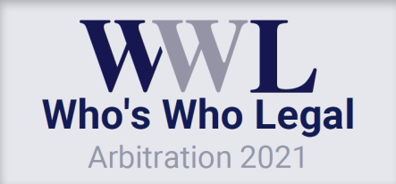 Two Omni Bridgeway arbitration funding specialists receive recognition in Who's Who Legal: Arbitration 2021